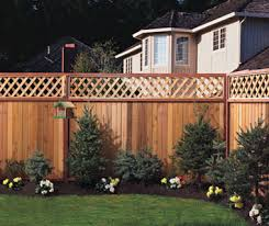 example garden fence installation
