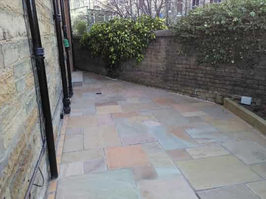 garden patio after example
