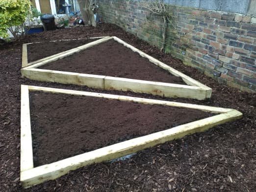 garden landscaping raised beds